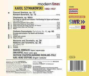 Sinfonia concertante op.6 - CD Audio di Karol Szymanowski - 2