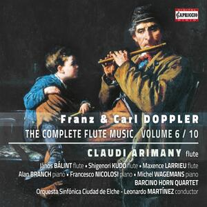 Musica per flauto vol.6 - CD Audio di Franz Doppler,Claudi Arimany