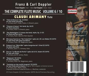 Musica per flauto vol.6 - CD Audio di Franz Doppler,Claudi Arimany - 2
