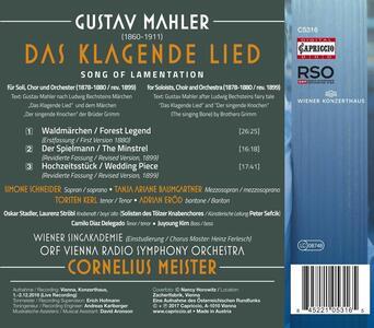 Das Klagende Lied - CD Audio di Gustav Mahler,Radio Symphony Orchestra Vienna,Cornelius Meister,Soloists of the Tölzer Knabenchor - 2