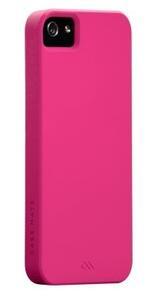 Case Mate custodia sottile e rigida Barely There Pink iPhone5 Tpu