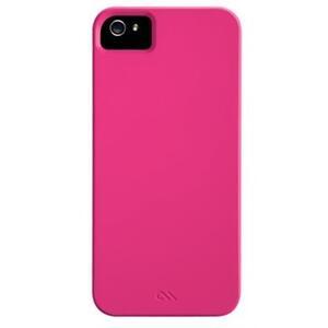 Case Mate custodia sottile e rigida Barely There Pink iPhone5 Tpu - 2