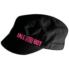 Cappellino Fall Out Boy. Black Shortbilled Cadet