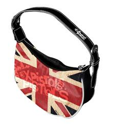 Borsetta Sex Pistols. Red Flag Logo