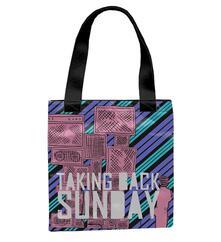 Borsetta Taking Back Sunday. Tote Bag