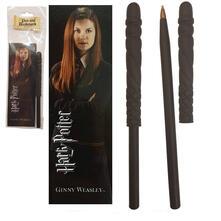 Harry Potter. Bacchetta Penna E Segnalibro Di Ginny Weasley