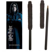 Bacchetta Penna+Segnalibro Harry Potter. Snape Wand Pen And Bookmark