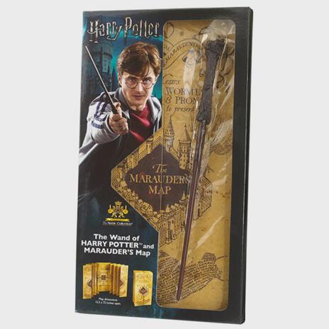Harry Potter Bacchetta di Harry Potter & Marauders Mappa Complete Collection   Autentica Merchandise Harry Potter   Ultimo Harry Potter Regali Collectors Edition