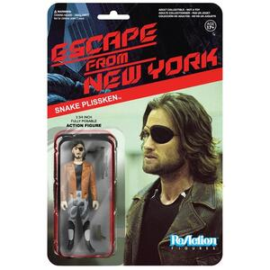 Funko ReAction Series. Escape From NY. Snake Plisskin in Jacket - 2