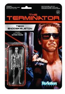 Action figure Chrome T-800 Endoskeleton. Terminator ReAction - 2