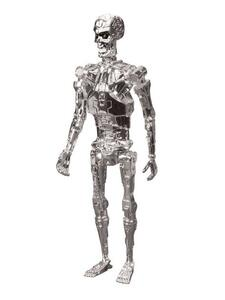 Action figure Chrome T-800 Endoskeleton. Terminator ReAction - 3
