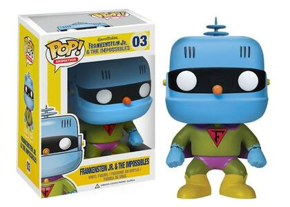 Funko POP! Animation. Hanna Barbera. Frankenstein Jr. Vinyl Figur - 3
