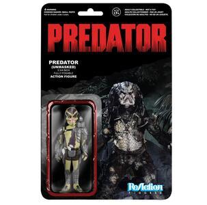 Funko ReAction Series Predators. Unmasked Predator Kenner Retro