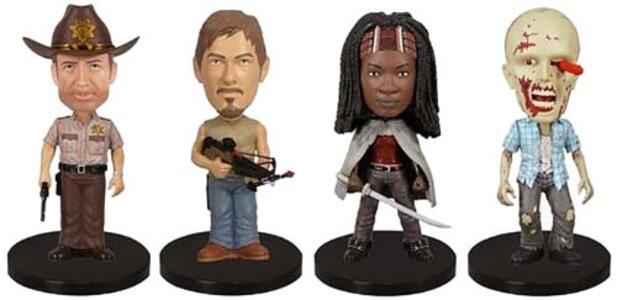 Funko Wacky Wobbler Mini. The Walking Dead 4pc Set - 2