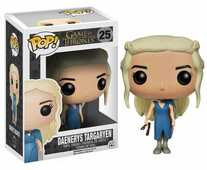 Giocattolo Action figure Daenerys Targaryen in Blue Dress. Game of Thrones Funko