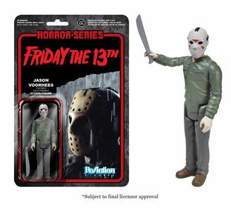 Funko ReAction Horror Series. Friday the 13th. Jason Voorhees