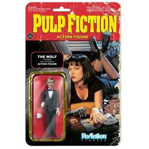 Funko ReAction Series. Pulp Fiction. The Wolf Kenner Retro