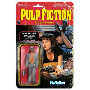 Funko ReAction Series. Pulp Fiction. Marcellus Wallace Kenner Retro - 2