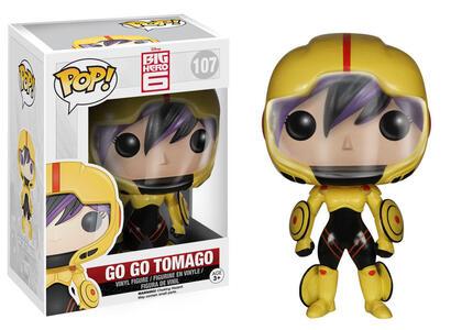 Funko POP! Marvel/Disney. Big Hero 6. Go Go Tomago - 3