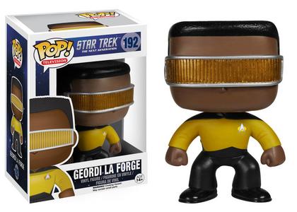 Giocattolo Action figure Geordi la Forge. Star Trek Funko Pop! Funko 1