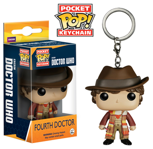 Giocattolo Action figure Pop Keychains: 4Th Doctor Funko Funko 0