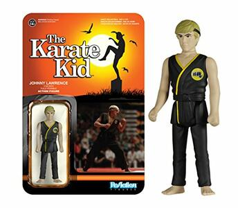 Funko Reaction The Karate Kid Johnny Lawrence Vintage Retro Figure - 3