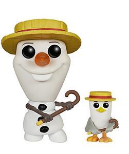 Funko POP! Disney Frozen. Barbershop Olaf and Seagull - 2