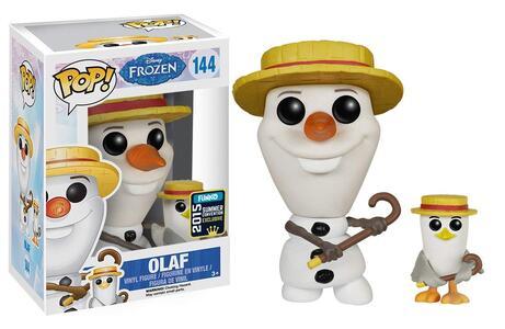 Funko POP! Disney Frozen. Barbershop Olaf and Seagull - 6