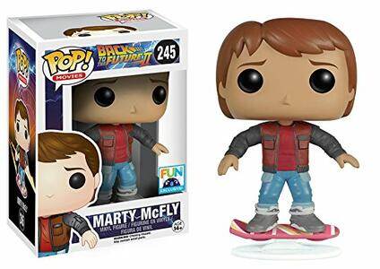 Funko POP! Movies. Back To The Future. Marty on Hoverboard. Vinyl Figur