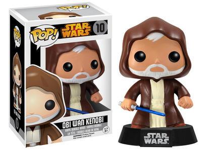 Funko POP! Star Wars. Obi-Wan Kenobi Bobble Head - 3