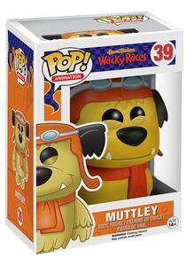 Funko POP! Animation. Hanna Barbera Muttley Flocked Variant Vinyl Figur - 4