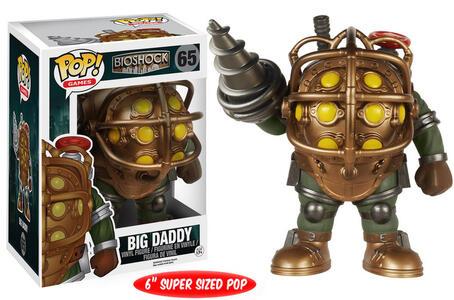 Funko POP! Games. Bioshock Big Daddy Oversized - 3