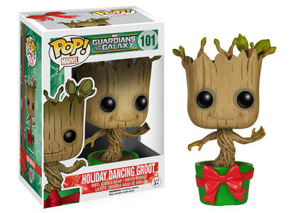 Funko POP! Marvel Guardians of the Galaxy. Holiday Dancing Groot