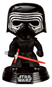 Giocattolo Action figure Kylo Ren. Star Wars Limited Edition Funko Pop! Funko