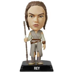 Funko Wacky Wobblers. Star Wars Episode VII The Force Awakens. Rey Bobble Head