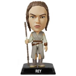 Giocattolo Action figure Rey. Star Wars Funko Wacky Wobbler Funko 0