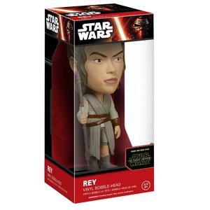 Funko Wacky Wobblers. Star Wars Episode VII The Force Awakens. Rey Bobble Head - 3