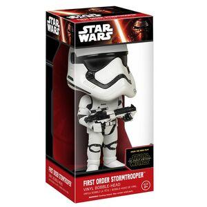 Giocattolo Action figure First Order Stormtrooper. Star Wars Wacky Wobbler Funko 1
