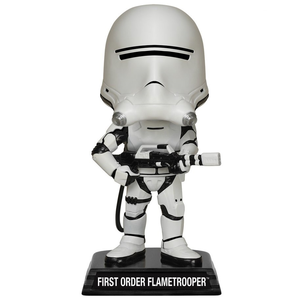 Giocattolo Action figure First Order Flametrooper. Star Wars Wacky Wobbler Funko 0