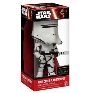 Funko Wacky Wobblers. Star Wars Episode VII The Force Awakens. First Order Flametrooper Bobble Head - 3