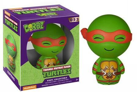 Giocattolo Action figure Raffaello. Teenage Mutant Ninja Turtles Funko Dorbz Funko