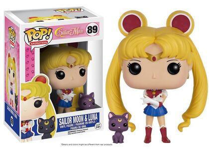 Funko POP! Animation Sailor Moon. Sailor Moon & Luna - 3