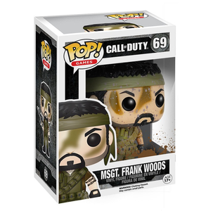 Giocattolo Action figure Msgt. Frank Woods. Call of Duty Funko Pop! Funko 0