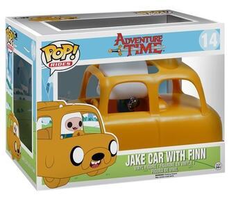 Funko POP! Rides. Adventure Time. Jake Car with Finn Set