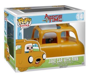 Funko POP! Rides. Adventure Time. Jake Car with Finn Set - 3