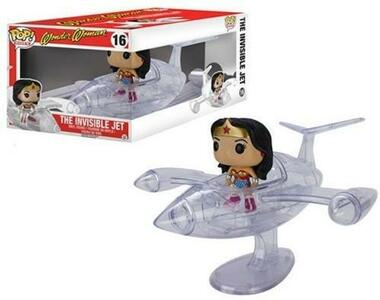 Funko POP Rides! DC Universe. Wonder Woman and Invisible Jet. Set - 2
