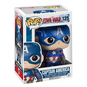 Giocattolo Action figure Captain America Civil War Edition. Marvel Funko Pop! Funko 0