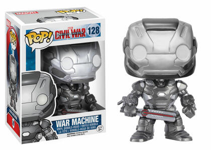 Funko POP! Marvel. Captain America 3. Civil War. War Machine. - 3