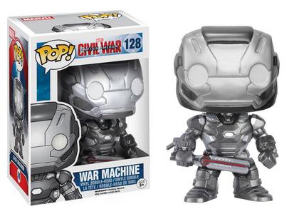 Giocattolo Action figure War Machine Civil War Edition. Marvel Funko Pop! Funko 1