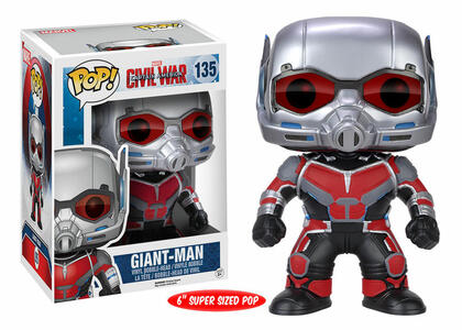 Funko POP! Marvel. Captain America 3. Civil War. Giant-Man Oversized. - 3